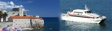 photo catamaran et budva